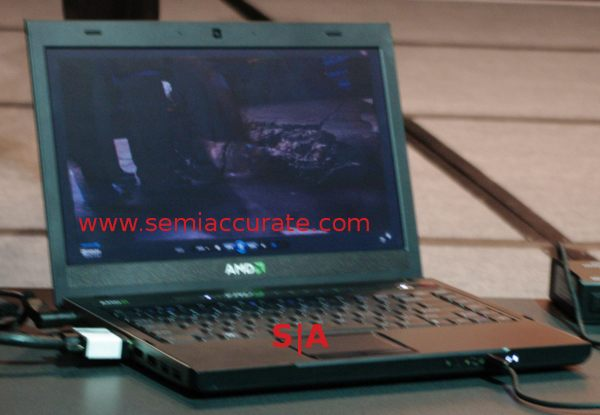 AMD Trinity laptop