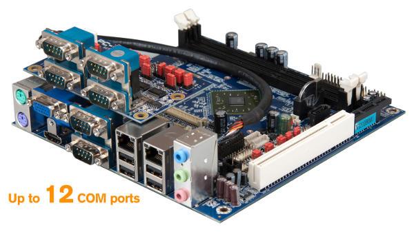 VIA EPIA-M910 Mini-ITX Board - VIA LPC-01/02 Add-on Card