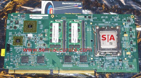 Opteron based SeaMicro board