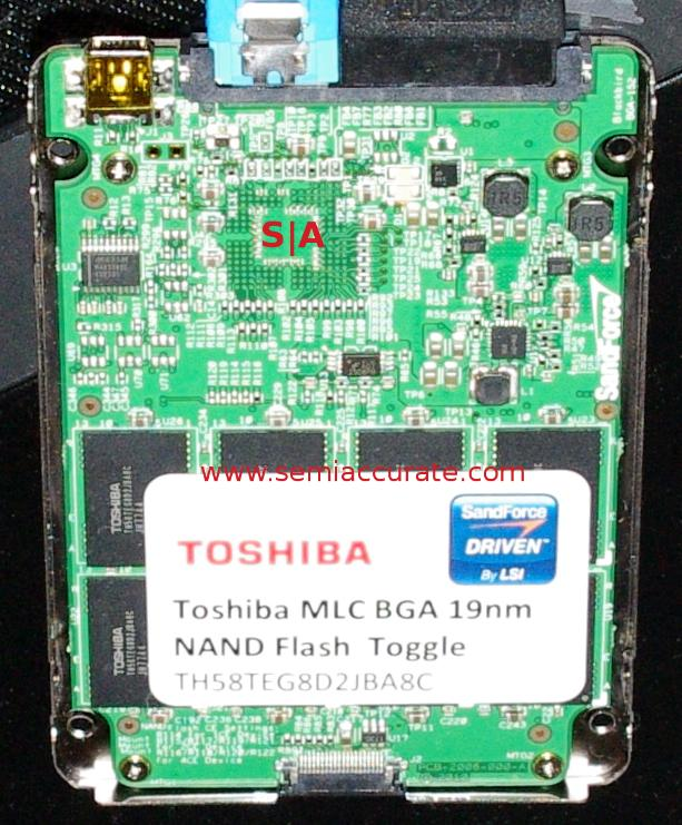 LSI with Toshiba 19nm flash