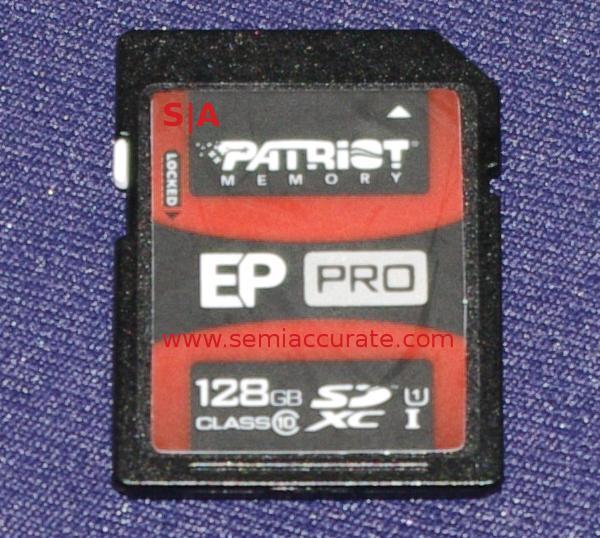 Patriot 128GB SDXC EP Pro