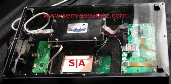 Synaptics NFC touchpad
