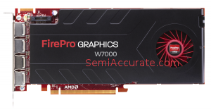 AMD FirePro Graphics Card GPU W7000 Tighen