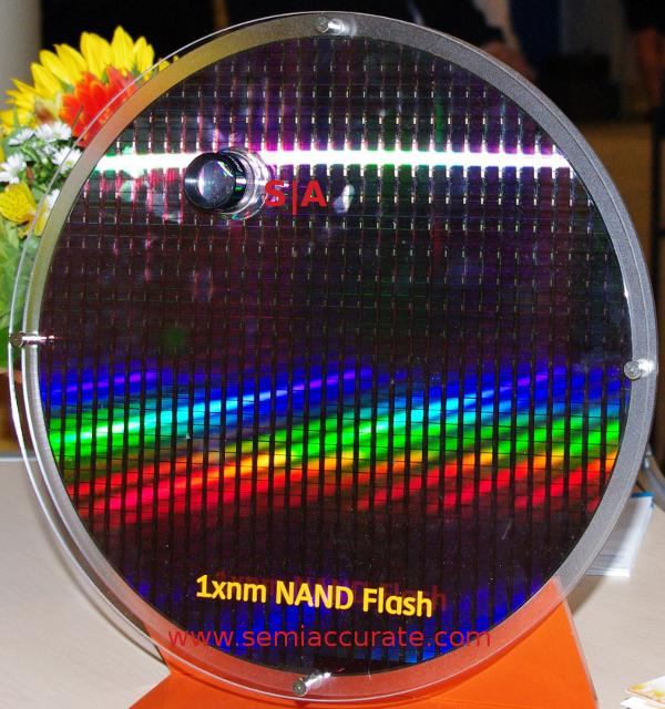 Hynix 1xnm flash wafer