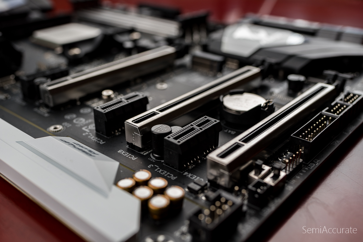 Gigabytes Ga Ax370 Gaming5 A Review Semiaccurate Gigabyte Gaming 5 There Are Also Two Sata Express Connectors Or 8 Iii Ports Take Away Here Is That The Has No Shortage Of I O Options