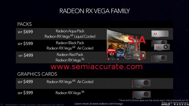 AMD Vega bundles