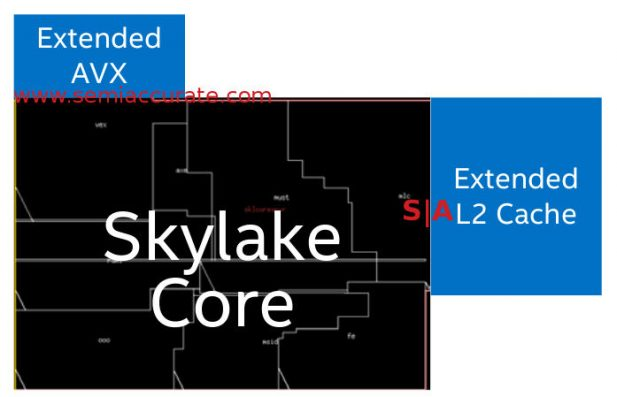 Intel Skylake-SP core extensions