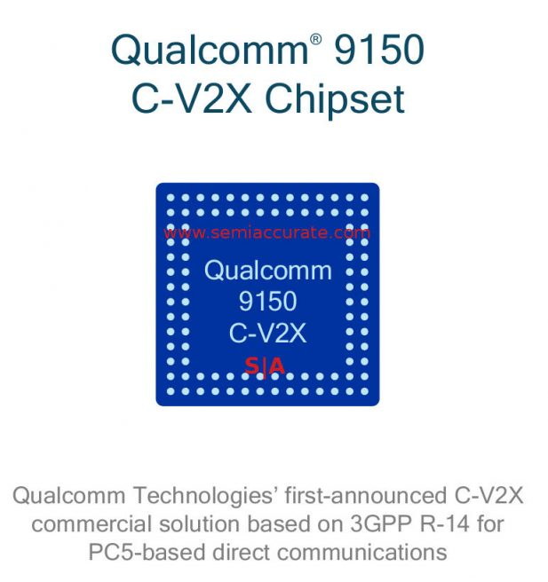Qualcomm 9150 C-V2X radio