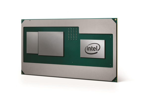 Intel Kaby-G package