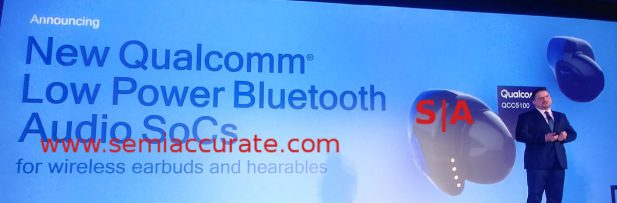 Qualcomm QCC5100 bluetooth earbuds