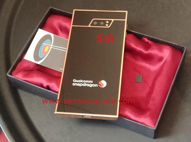 Qualcomm 5G phone prototype baack