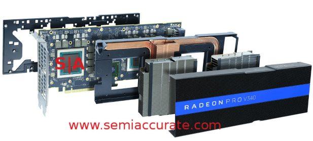 AMD V340 GPU exploded