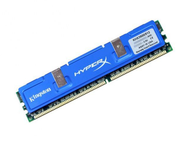 First Kingston HuperX DIMM