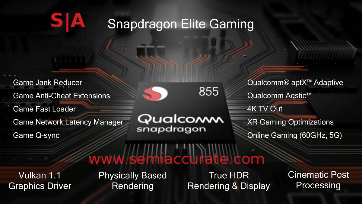 What did Qualcomm do with the Snapdragon 855? - SemiAccurate