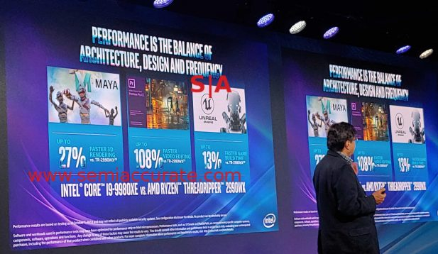 Intel 9980XE launch specs