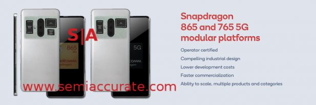 Qualcomm Snapdragon 765 and 865 modules