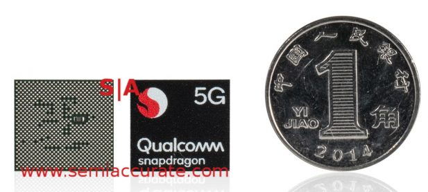 Qualcomm Snapdragon 765 5G SoC front and back
