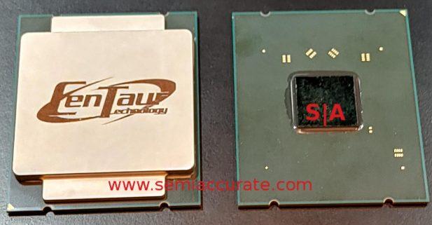 Centaur CHA x86 AI CPU front