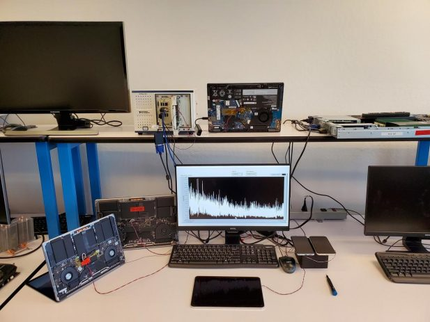 Nuvia PPW testing setup