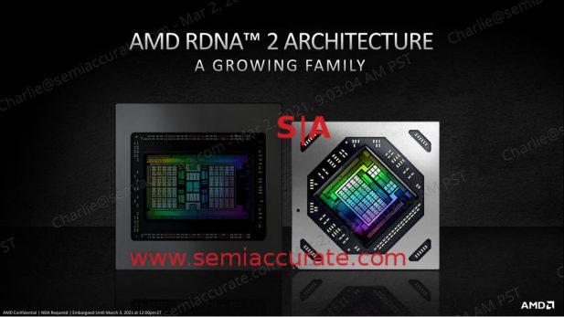 AMD Radeon 6700XT die shot