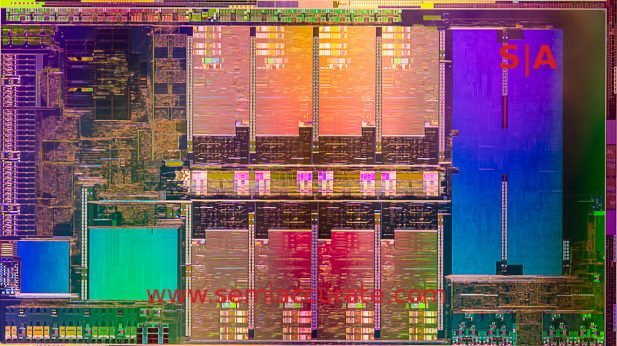 Intel Tiger-H die shot