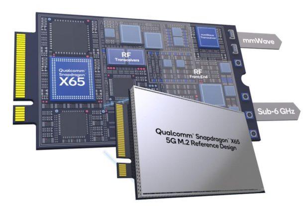 Qualcomm M.2 5G Modem reference design