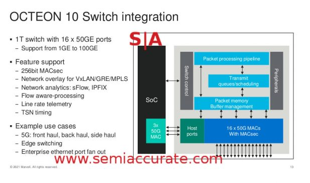 Octeon 10 switch features