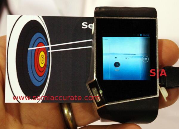 NeuFashion Android wristwatch