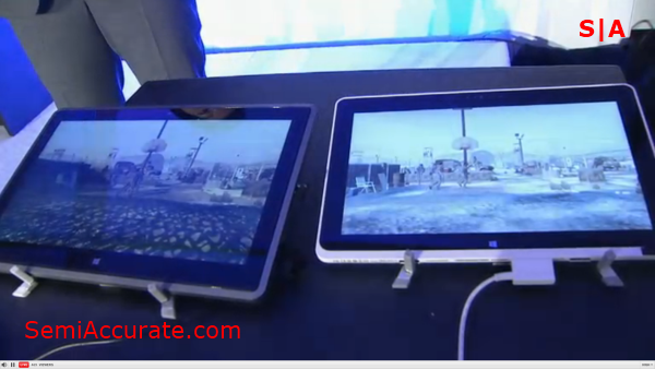 Tablet Comparison AMD