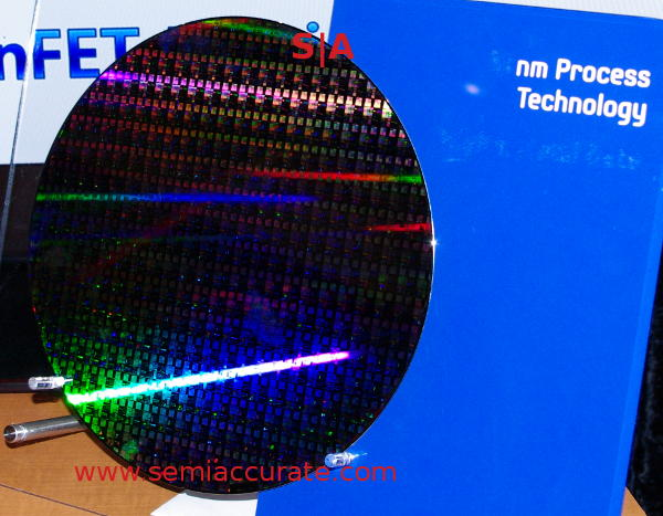 Samsung 14nm test wafer
