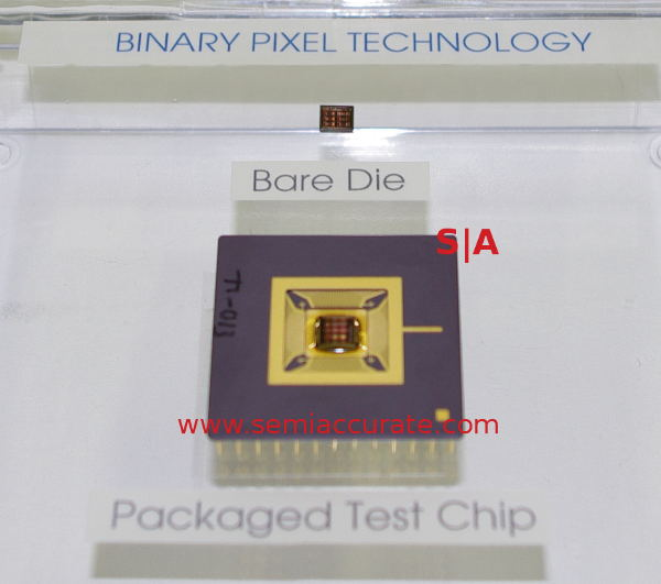 Rambus Binary Pixel sensor and chip