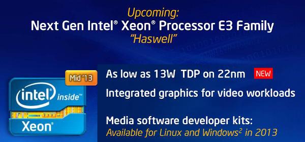 Intel talks up three new Xeon families at IDF - SemiAccurate