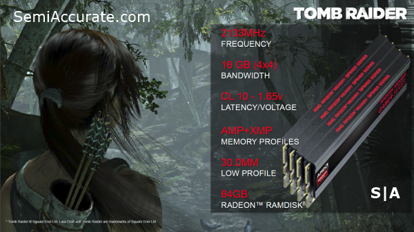 AMD Radeon Memory Gamer Series
