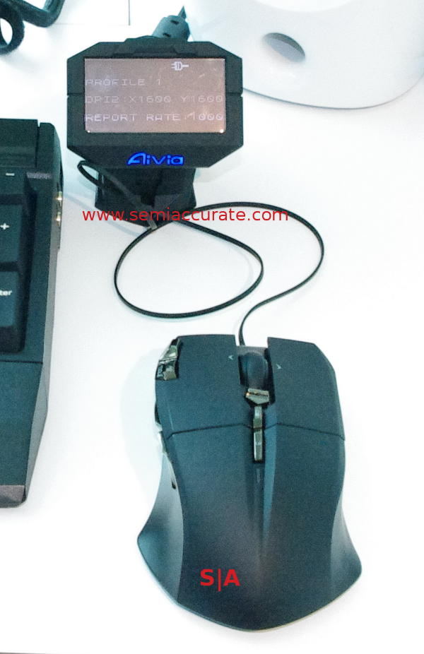 Gigabyte Aivia Uranium Mouse with screen