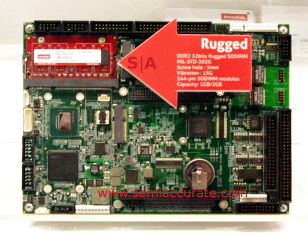Innodisk ruggedized DIMMs