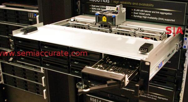 Synology RS3614xs rackmount NAS box