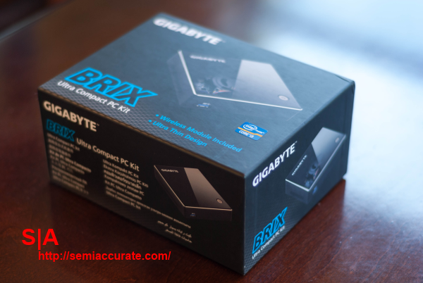 Gigabyte Brix Box