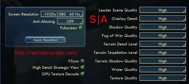 Civ V Settings
