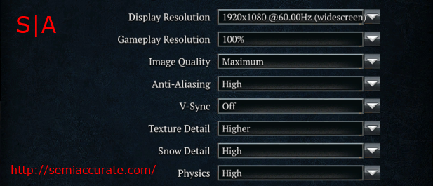 CoH2 Settings