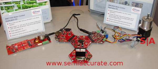 Infineon XMC4500 Motor Control Application Kit