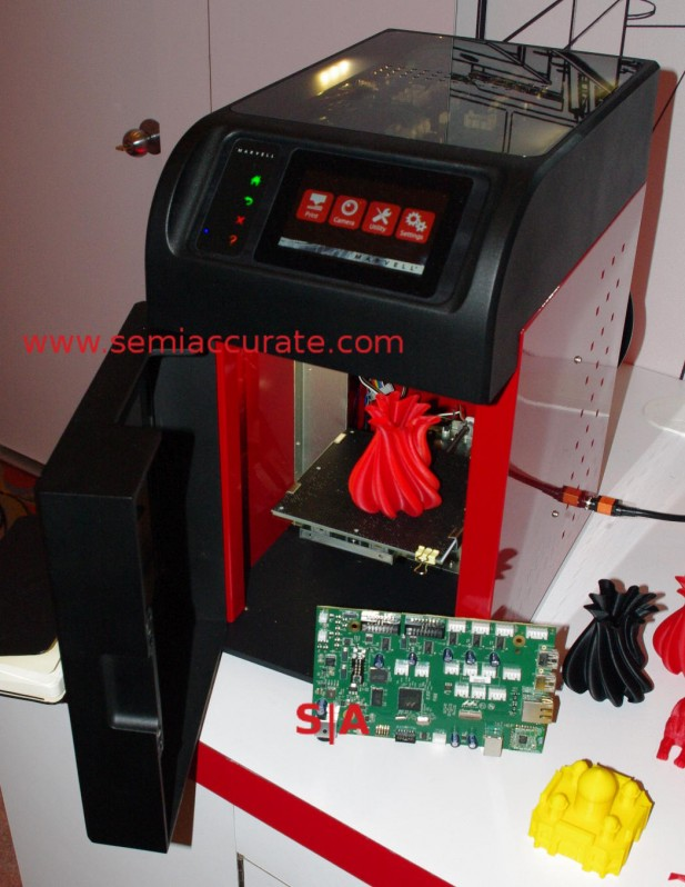 Marvell 3D printer and board