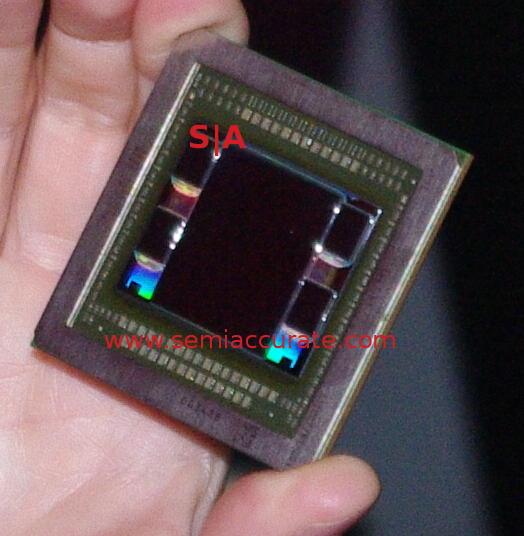 AMD Fiji die showing interposer and HBM stacks