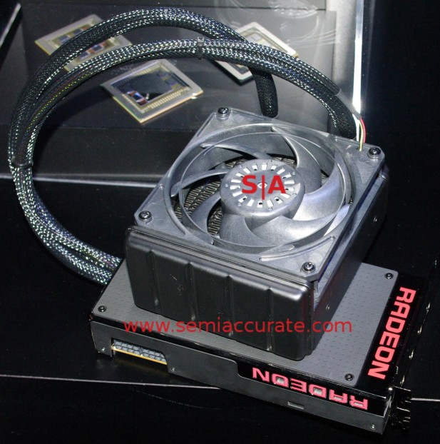 AMD watercooled Fury X card