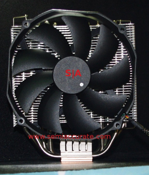 Gelid Antarctica heatsink and fan