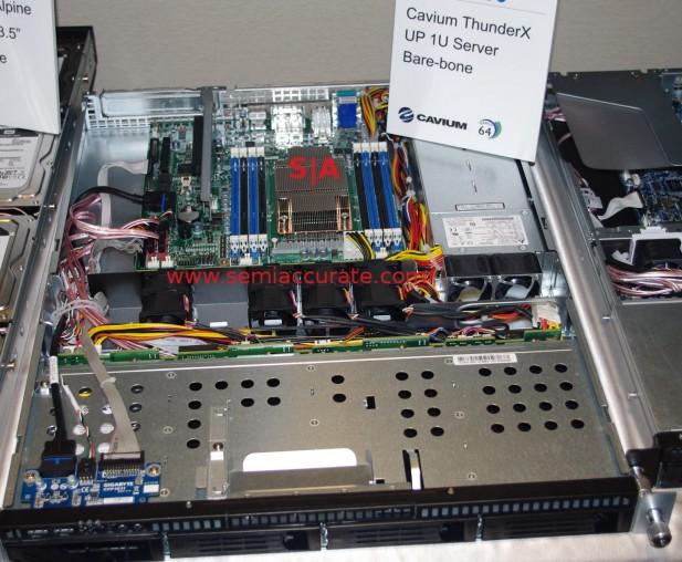 Gigabyte ThunderX 1S chassis