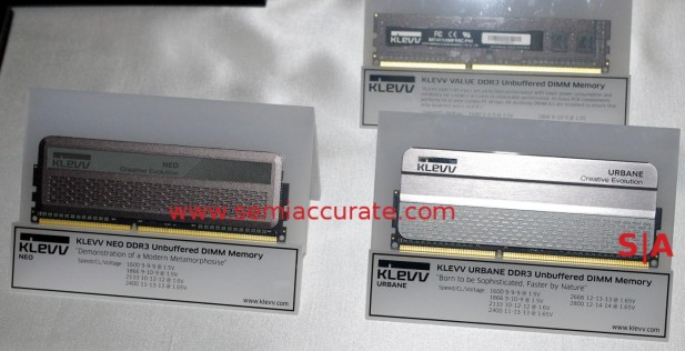 Hynix Klevv DDR3 sticks