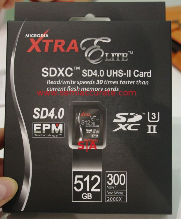 Microdia 512GB SD4.0 card