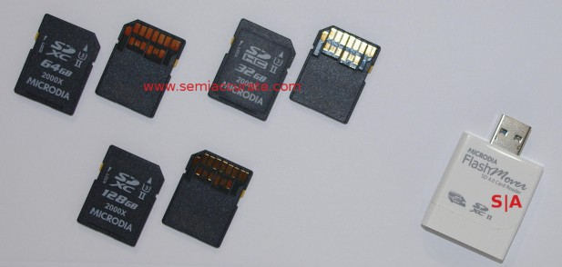 Microdia SD4.0 cards and SD4.0 reader